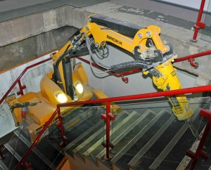 Brokk Machine Walking Upstairs